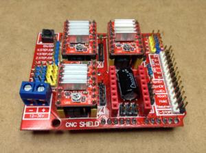 ステッピングモーター制御に便利なCNC Shield
