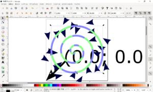 InkscapeでDVDプロッター用のGCODEを生成する方法